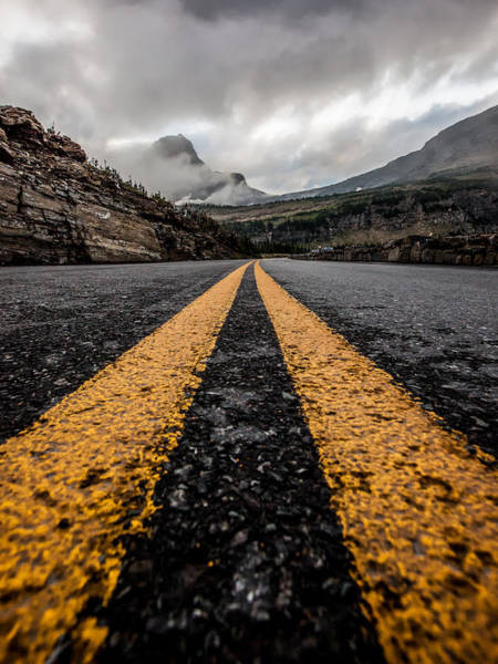 Point Of View Wall Art - Photograph - Less Traveled by Aaron Aldrich