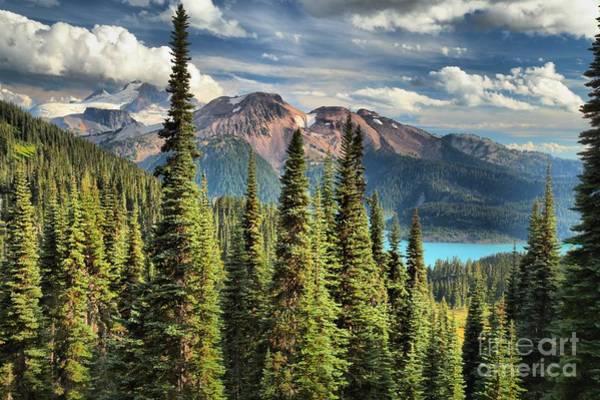 Photograph - Lesser Garibaldi Lake by Adam Jewell