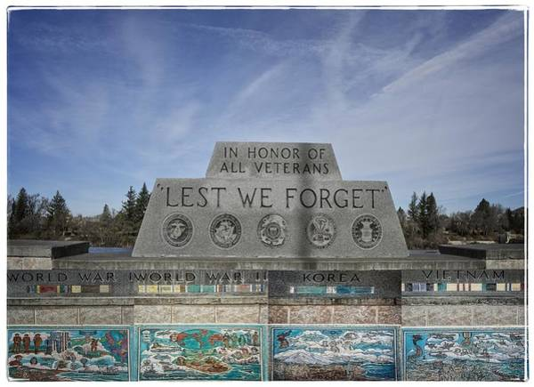 Bonneville County Photograph - Lest We Forget by Image Takers Photography LLC - Carol Haddon