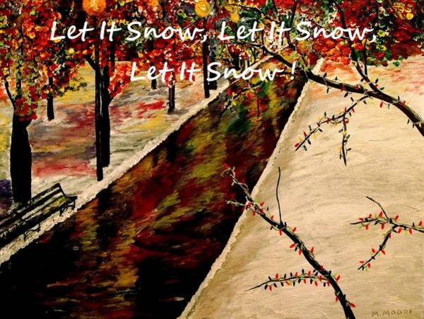 Let In The Light Painting - Let It Snow  by Mark Moore
