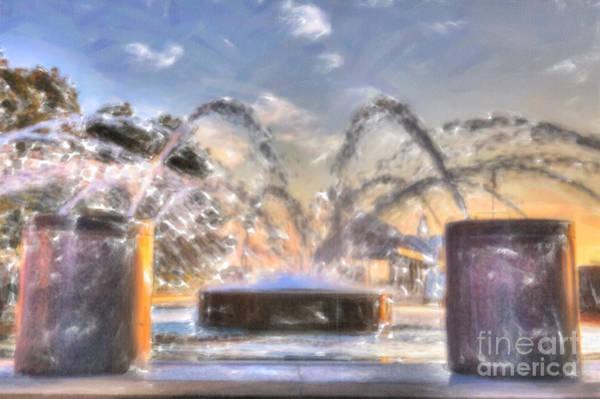Digital Art - Let It Spray by Dale Powell