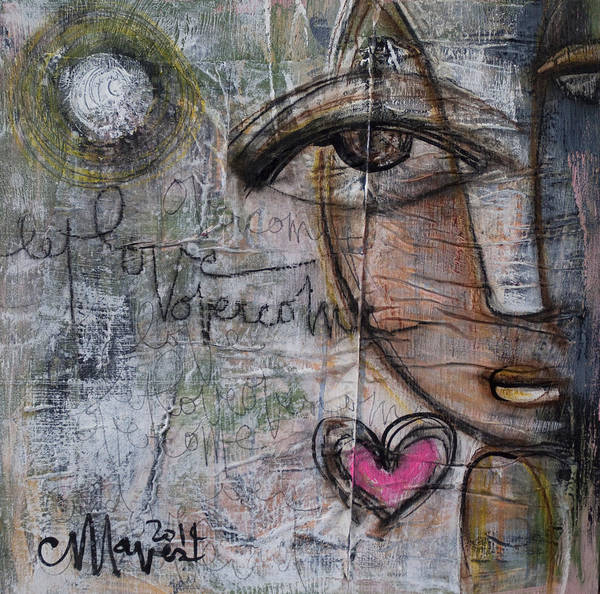 Painting - Let Love Overcome by Laurie Maves ART