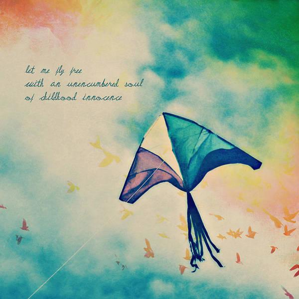Let Me Fly Free Art Print