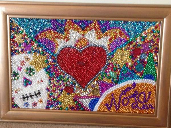 Sacred Heart Mixed Media - Let The Good Times Roll by Tracie Sheaffer
