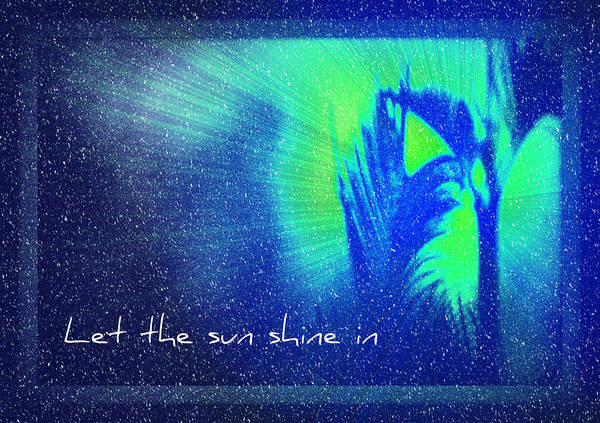 Photograph - Let The Sun Shine In by Carolyn Marshall