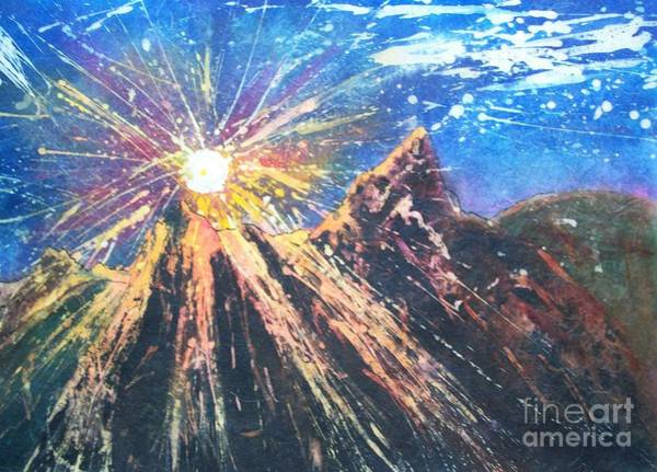 Painting - Let There Be Light by Carol Losinski Naylor