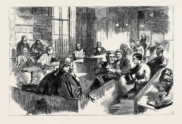 Laugh Drawing - Let Those Laugh Who Win The Privy Council As A Court by English School