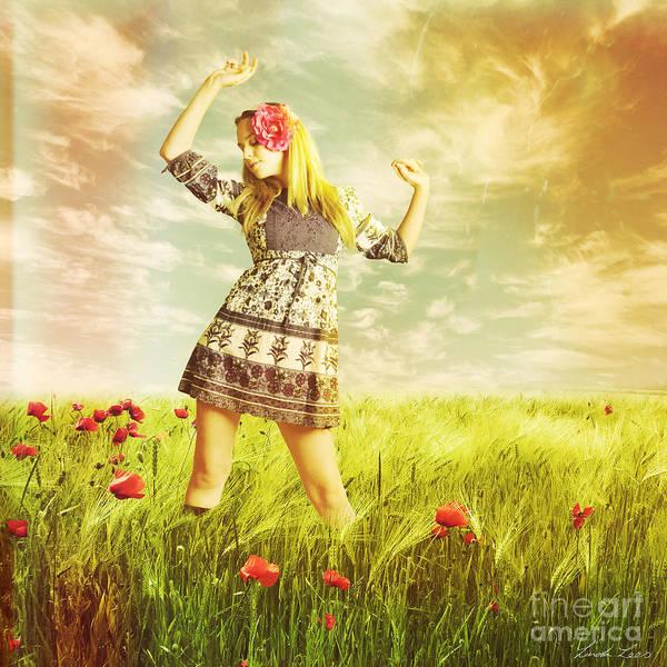 Wall Art - Digital Art - Let Us Dance In The Sun by Linda Lees