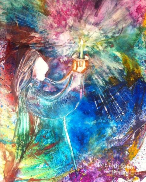 Painting - Let Your Light Shine by Deborah Nell