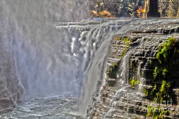 Photograph - Letchworth Falls by William Norton