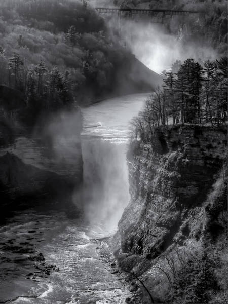 Wall Art - Photograph - Letchworth In Winter by Joshua House