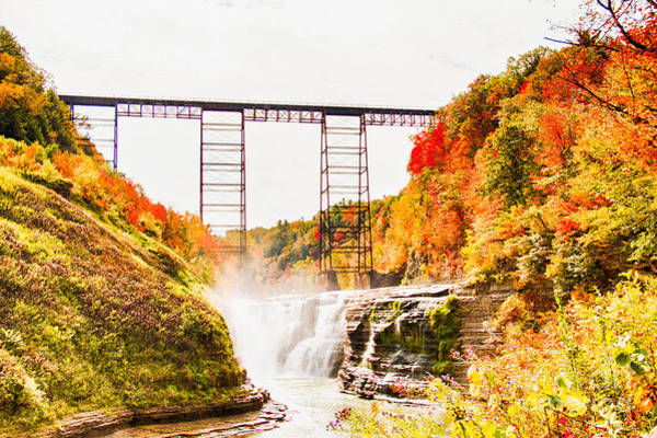 Photograph - Letchworth State Park by Jim Lepard