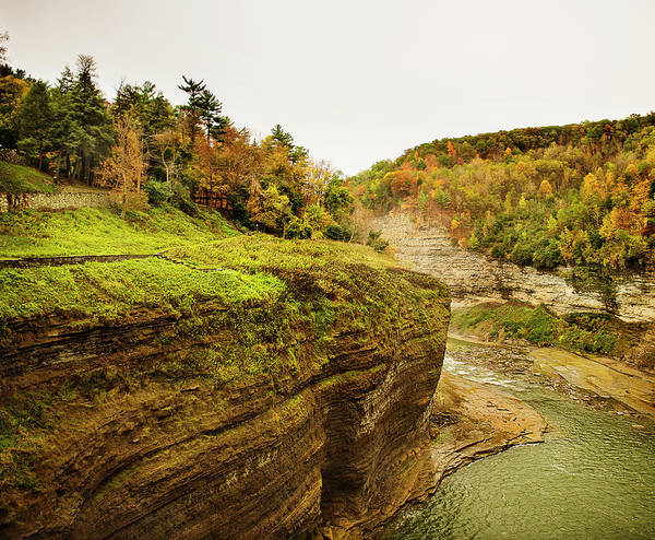 Letchworth Photograph - Letchworth State Park by Michael Marquand