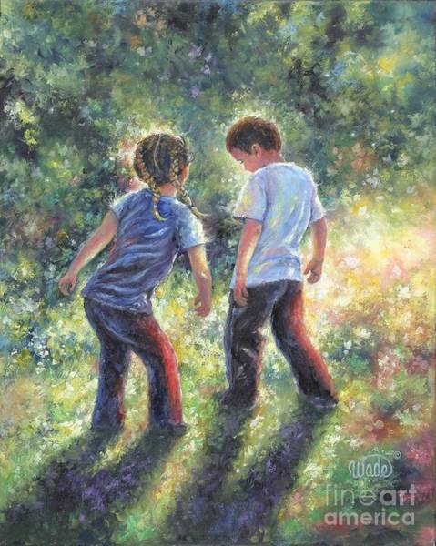 Wall Art - Painting - Lets Dance by Vickie Wade