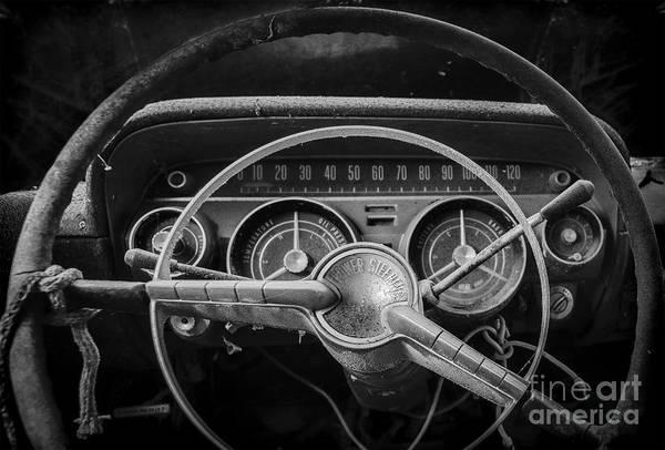 Photograph - Let's Drive Bw by Ken Johnson