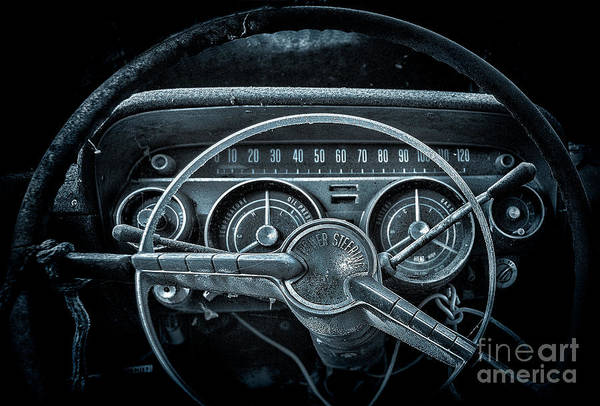 Let's Drive   Moon Glow Art Print