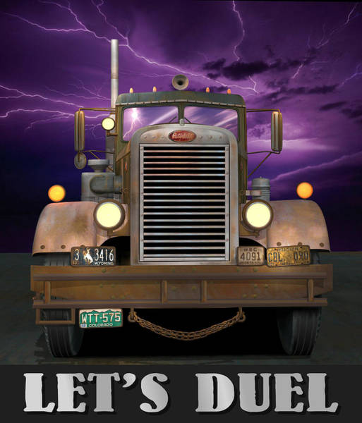 Wall Art - Digital Art - Let's Duel by Stuart Swartz