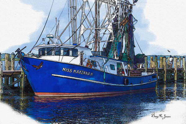 Photograph - Let's Go Shrimping by Barry Jones