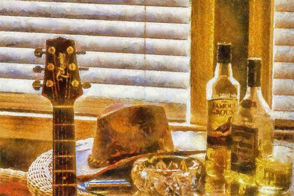 Painting - Let's Jam by Barry Jones