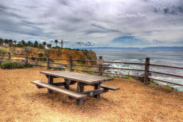 Point Vicente Wall Art - Photograph - Let's Picnic by Heidi Smith