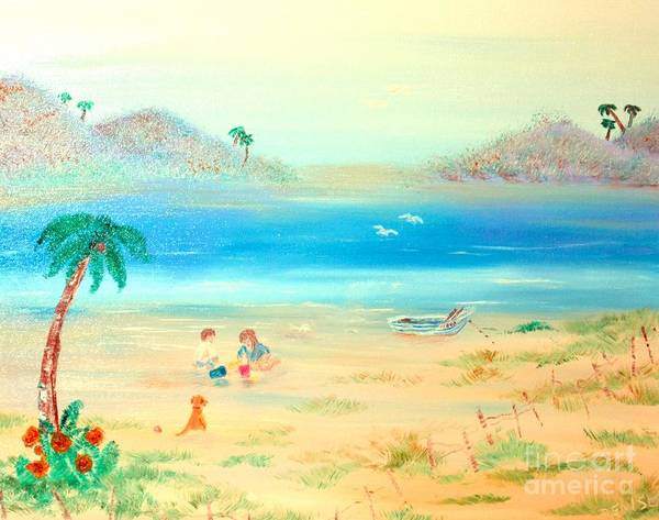 Painting - Lets Play by Denise Tomasura