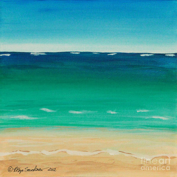 Painting - Let's Sea The View by Robyn Saunders