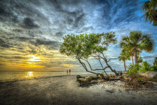 Low Tides Photograph - Let's Stay Here Forever by Marvin Spates