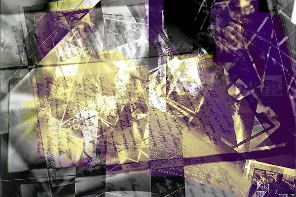 Digital Art - Letters.. by Art Di