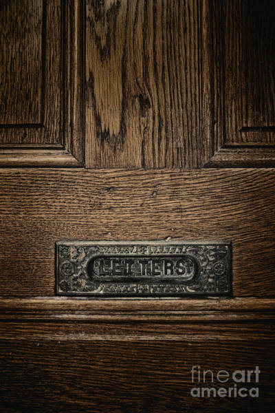 Mail Slot Photograph - Letters by Margie Hurwich