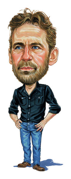 Wall Art - Painting - Levon Helm by Art