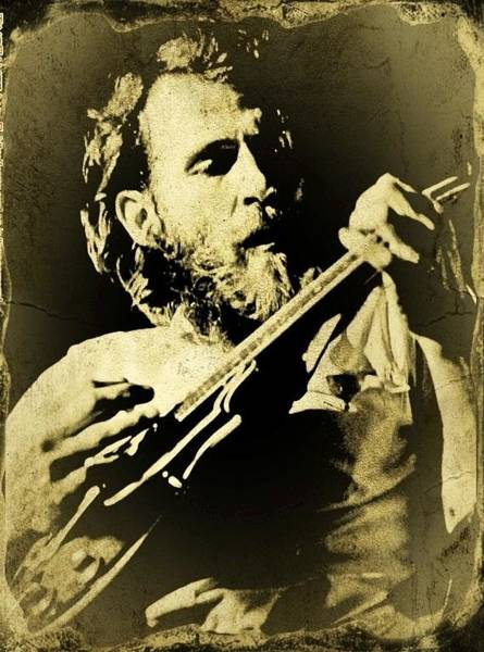 Wall Art - Photograph - Levon Tintype by Larry Lamb
