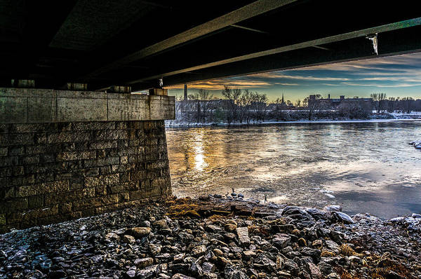 Photograph - Lewiston Under The Bridge by Bob Orsillo