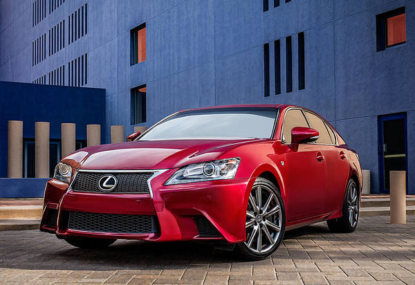 Wall Art - Digital Art - Lexus Gs350 F Sport by Douglas Pittman