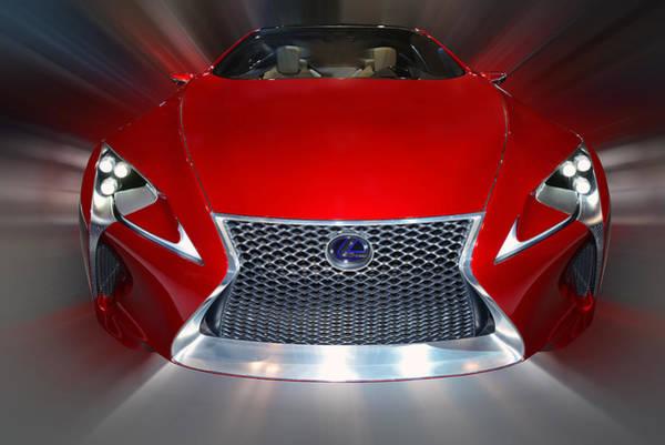 Photograph - Lexus L F - L C Hybrid 2013 by Dragan Kudjerski
