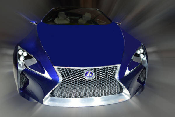 Photograph - Lexus Lf-lc Concept 2014 by Dragan Kudjerski