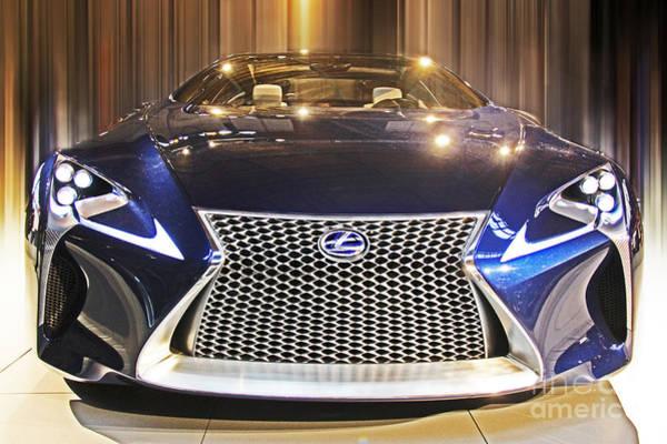 Carbon Fiber Photograph - Lexus Lf-lc by Tom Gari Gallery-Three-Photography