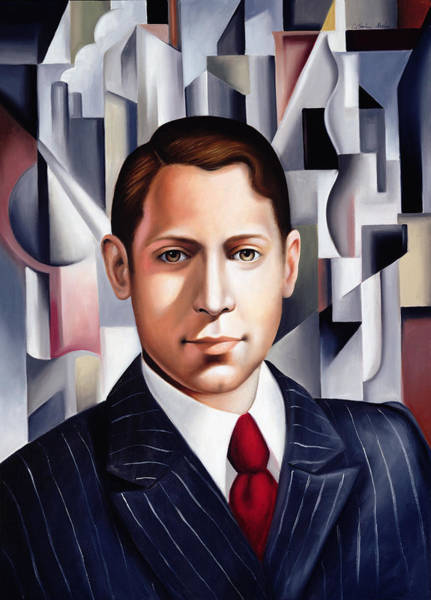Businessman Painting - L'homme D'affaire by Catherine Abel
