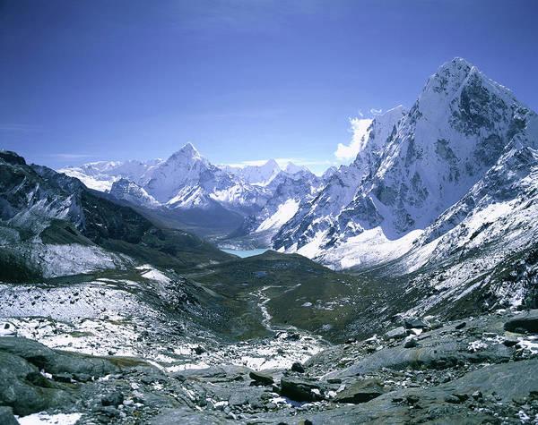 Gokyo Photograph - Lhotse Himal by Thomas L. Kelly