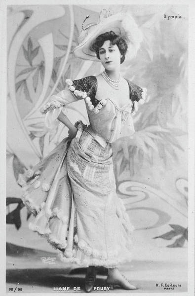 Liane Photograph - Liane De Pougy  French Actress by Mary Evans Picture Library