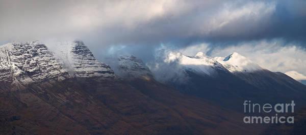 Beinn Eighe Photograph - Liathach And Beinn Eighe. by Duncan Andison