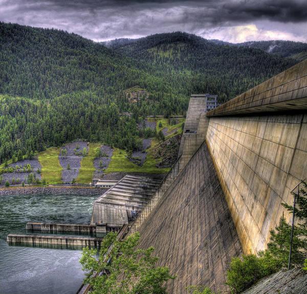 Photograph - Libby Dam 1 by Lee Santa