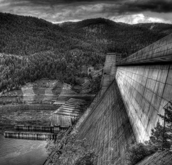 Photograph - Libby Dam 2 by Lee Santa