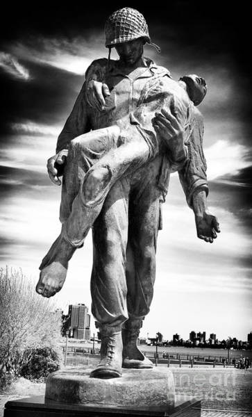 Holocaust Photograph - Liberation Holocaust Memorial Jersey City by John Rizzuto