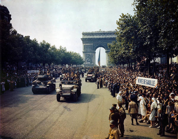 Photograph - Liberation Of Paris by Celestial Images