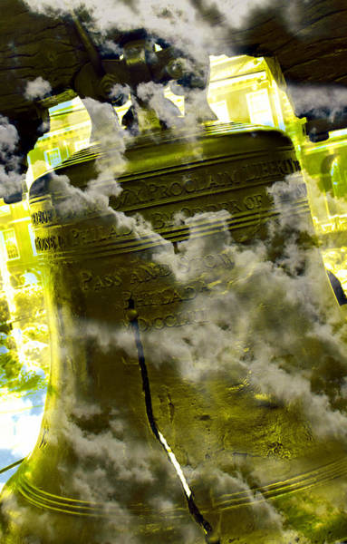 Declaration Of Independence Photograph - Liberty Bell 3.2 by Stephen Stookey