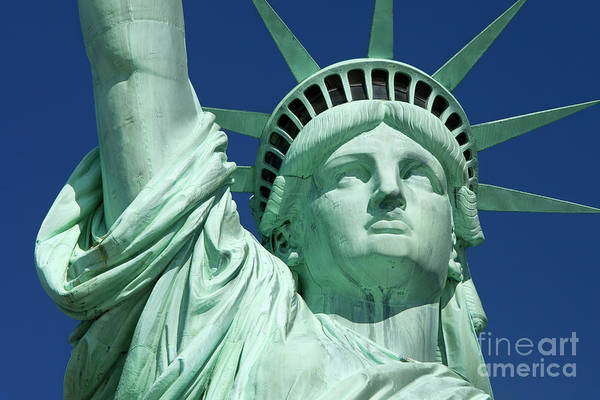 America Photograph - Liberty by Brian Jannsen