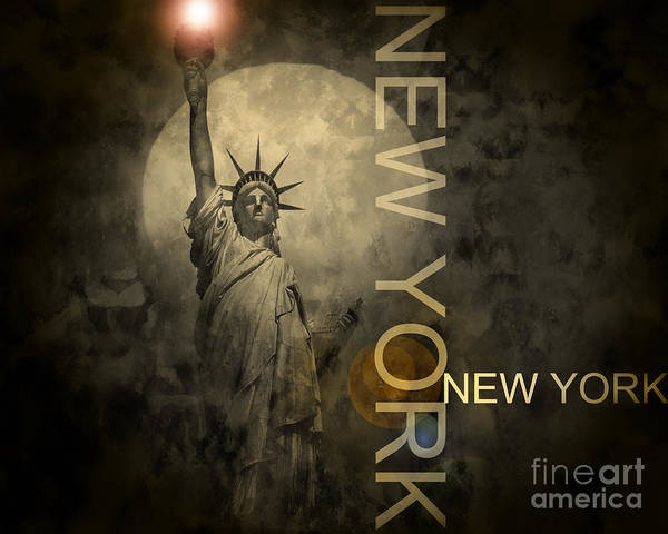 Photograph - Liberty by Edmund Nagele