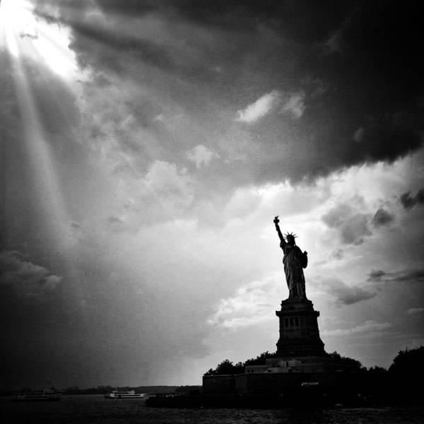 Photograph - Liberty Enlightening The World by Natasha Marco
