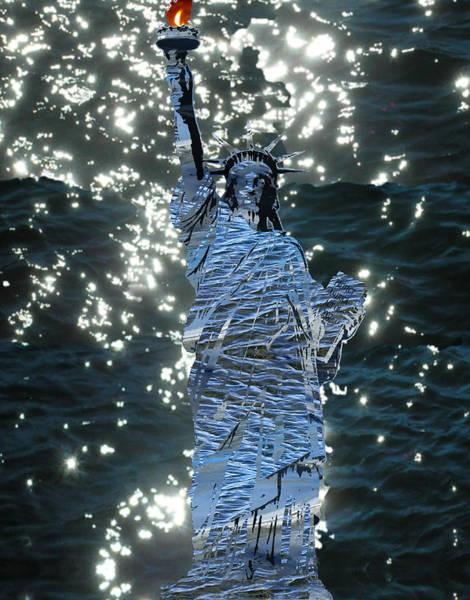Mlk Digital Art - Liberty by JG Whitney