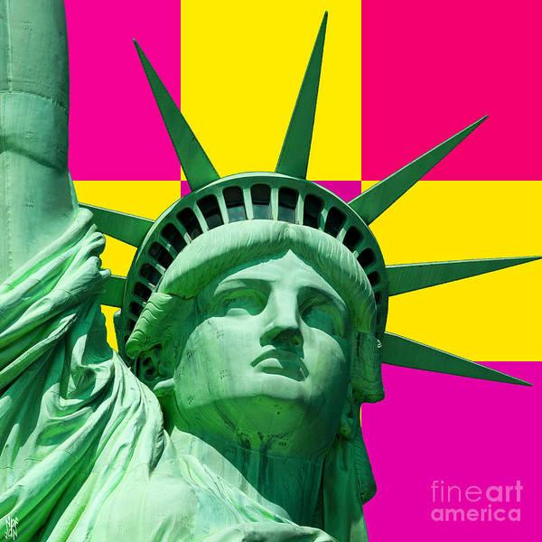 Revolting Digital Art - Liberty by Neil Finnemore